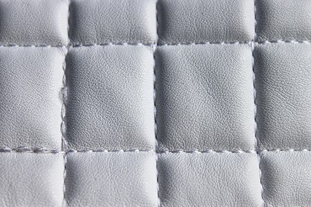 Grey picture of artificial leather upholstery photo