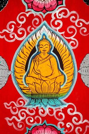 Buddhist Art Background Stock Photo - 8413309