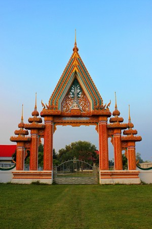 Archway of Temple Stock Photo - 8159779