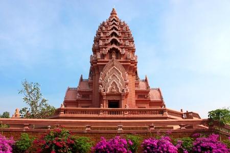archway: Khao Noi Pagoda At Buriram, North-East Of Thailand
