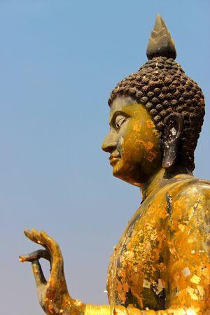 Buddha image, Nadun, Mahasarakam Stock Photo - 8979906