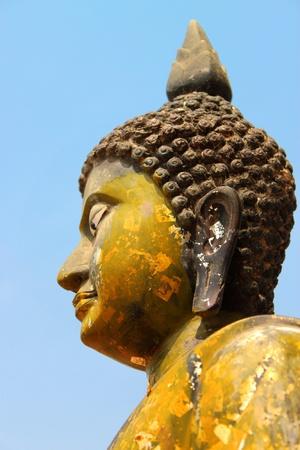 Buddha image, Nadun, Mahasarakam photo