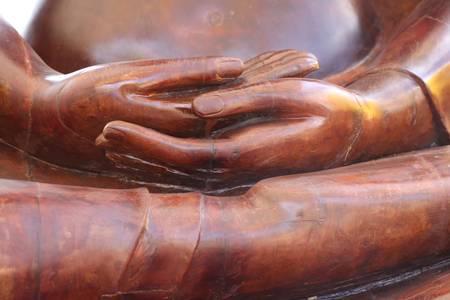 Buddha posture, Bung Palanchai & Suan Somdej Park, Roi-et, Thailand photo