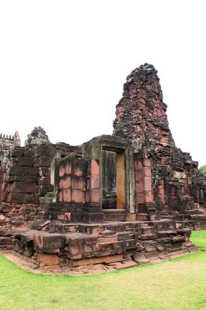 Ancient architecture at Prasat Phimai stone sanctuary, Korat Stock Photo - 9273505