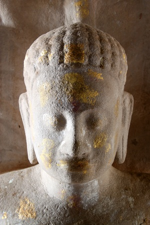 Buddha image at at Prasat Phimai stone sanctuary, Korat Stock Photo - 9273271