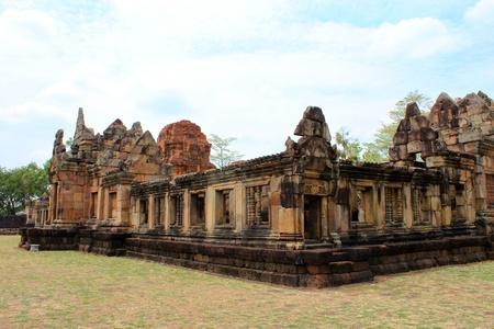 Prasat Muang Tam Stone Sanctuary, Buriram, Thailand photo