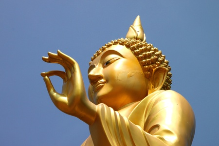Buddha statue in Blessing Posture style (Pang Prathanporn) Stock Photo - 11068594