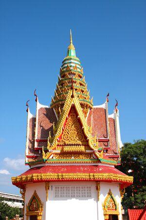 establishment: Pavilion of Phra Buddha Ming Muang - A place establishment most famous Buddha image of Kosumphisai, Mahasarakham, Thailand