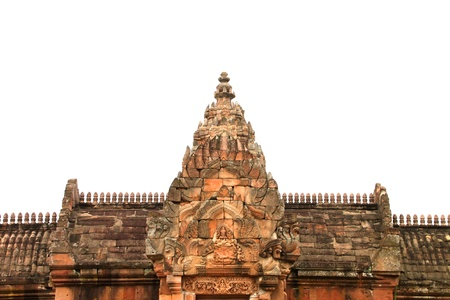 Ancient sandstone architecture of Prasat Khao Panom Rung, Buriram, Thailand Stock Photo - 13199829