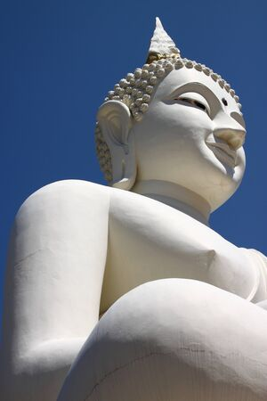 Buddha image - Phra Mongkol Muni Sri Nachuak, Mahasarakham, Thailand. Stock Photo - 13529061