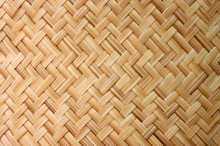 Thai-style bamboo basketry wooden texture photo