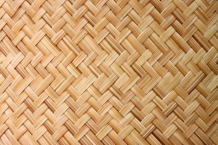 Thai-style bamboo basketry wooden texture Banco de Imagens