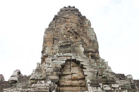 Prasat Bayon, Angkor Thom, Siamreap, Khmer Republic Stock Photo - 14394167