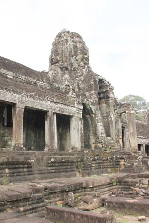 cambodge: Prasat Bayon, Angkor Thom, Siamreap, Khmer Republic