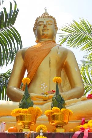 Buddha statue - Phra Chao Tan Jai, Nadun, Thailand Stock Photo - 14457206