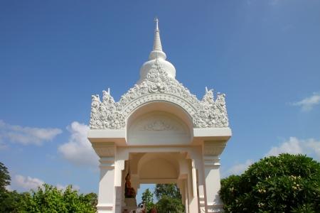 mahasarakham: Pavilion of Principle Kantarawichai Buddha statue, Mahasarakham, Thailand