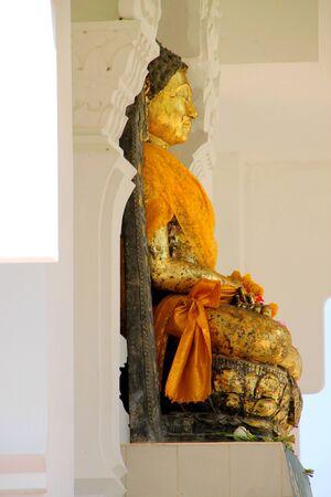 mahasarakham: Principle Kantarawichai Buddha statue, Mahasarakham, Thailand Stock Photo