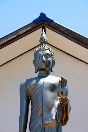 porno: Immagine del Buddha in postura eretta, Pang Prathan porno Archivio Fotografico