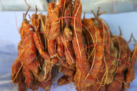flavouring: Lumps of ripe tamarind, used as main Thai food flavouring especially Tom Yam