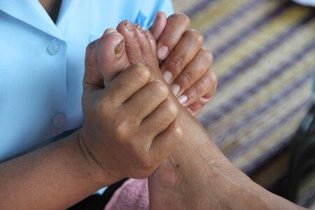 Reflexology massage, spa foot treatment,Thailand Stock Photo - 15516166