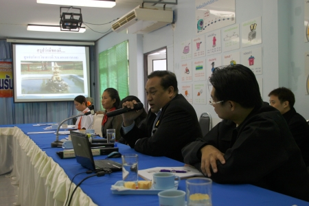 monocrystalline: MUANG, MAHASARAKHAM - SEPTEMBER 18 : Unidentified officers are conferencing in alternative energy workshop on September 18, 2012 at Education and services center 3, Muang, Mahasarakham, Thailand.