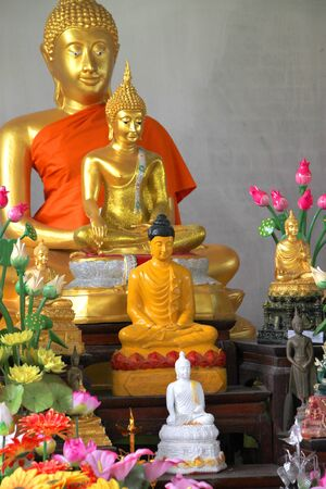 Buddha statue in Wat Nong Koon, Bua Kor, Mahasarakham, Thailand Stock Photo - 15593566