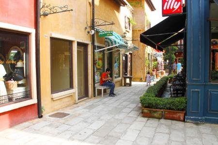 palio: Palio Khao Yai, new Italian style walking street, building decoration, shopping and business center in Korat, Thailand.