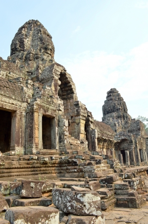 handscraft: Classical Khmer construction at The Bayon