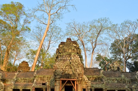 handscraft: Classical Khmer construction at Prasat Ta Prohm