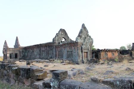 handscraft: Classical Lao P.D.R. construction at Prasat Vat Phou