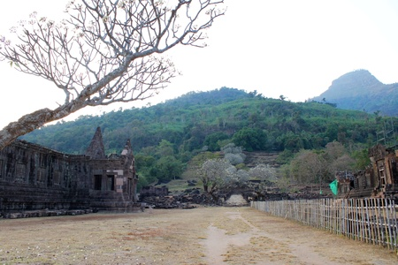 handscraft: Classical Lao P.D.R. construction at Prasat Vat Phou