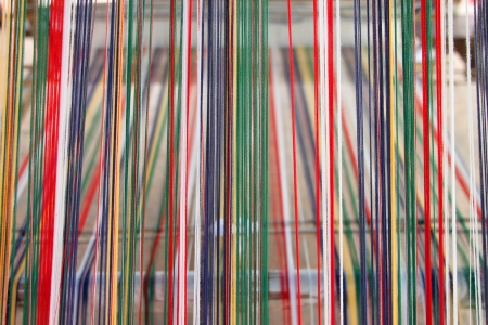Colorful thread for clothes weaving