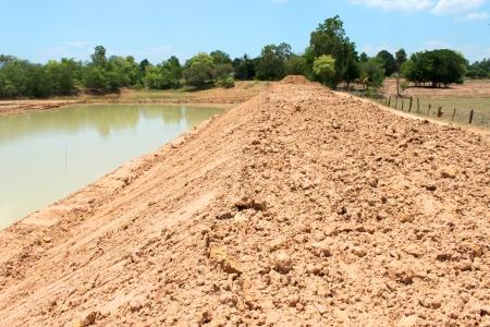rural development: reservoir development of public project in rural Thailand