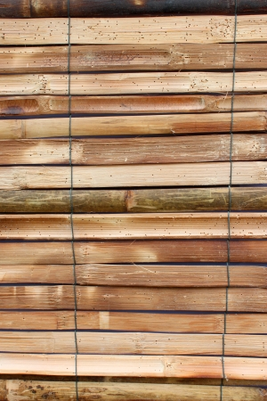bamboo blind exterior decoration photo