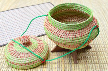 Kratip or sticky rice utensil photo