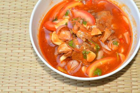 sardine in tomato sauce photo