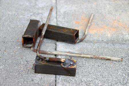 Welded: welded steel for building construction