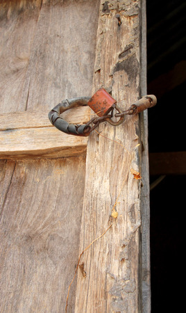 master key: termite damage home wooden wall and master key