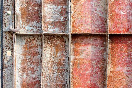 compacted: metal formwork in building site