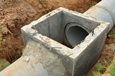 system development: sanitary sewer drainage system development