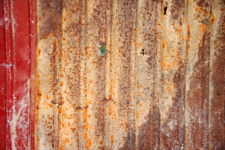 substantial: old and grunge metal wall background