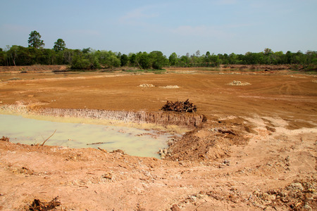 quagmire: unfinished reservoir construction for solving aridity problem in northeast Thailand
