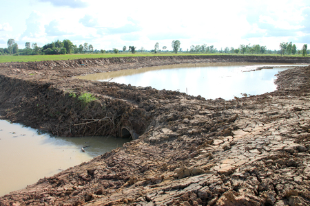 reservoir construction for solving aridity problem in northeast Thailand