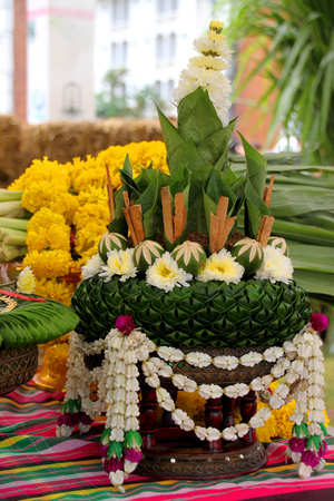 betel bowl presented during a wedding ceremony to the bride's parents