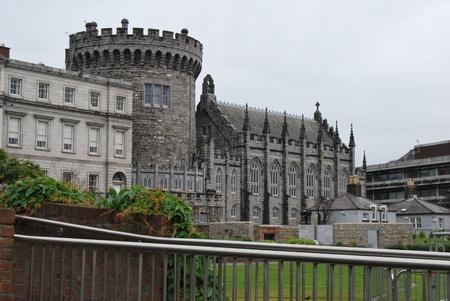 the old dublin castle, ireland photo