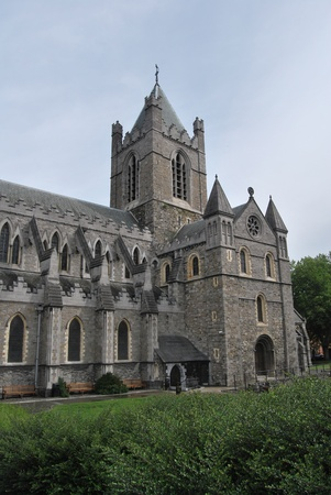 castles needle: the san patrick cathedral in dublin
