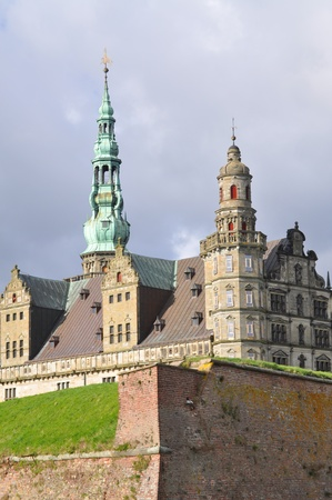 the castle of Elsinore, Hamlets residence, helsingor, danmark photo