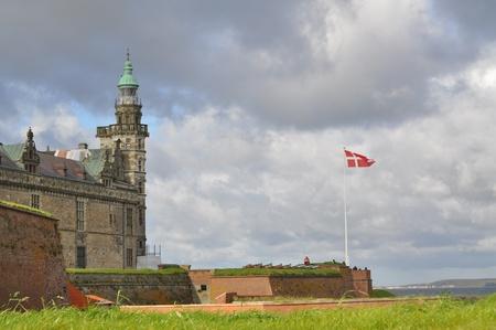 hamlets: the castle of Elsinore, Hamlets residence, helsingor, danmark