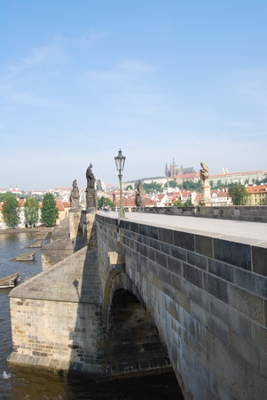 prague,capital of czech repulic, with its palaces, bridges and castles photo
