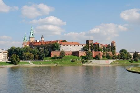 wawel: the wawel castle in krakow, poland, europe Stock Photo